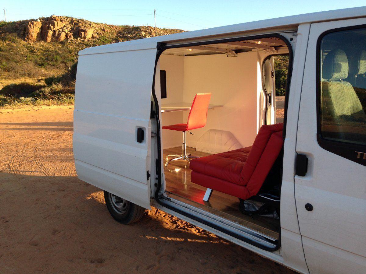 Meet The Successful App Developer Who Transformed His Van Into His