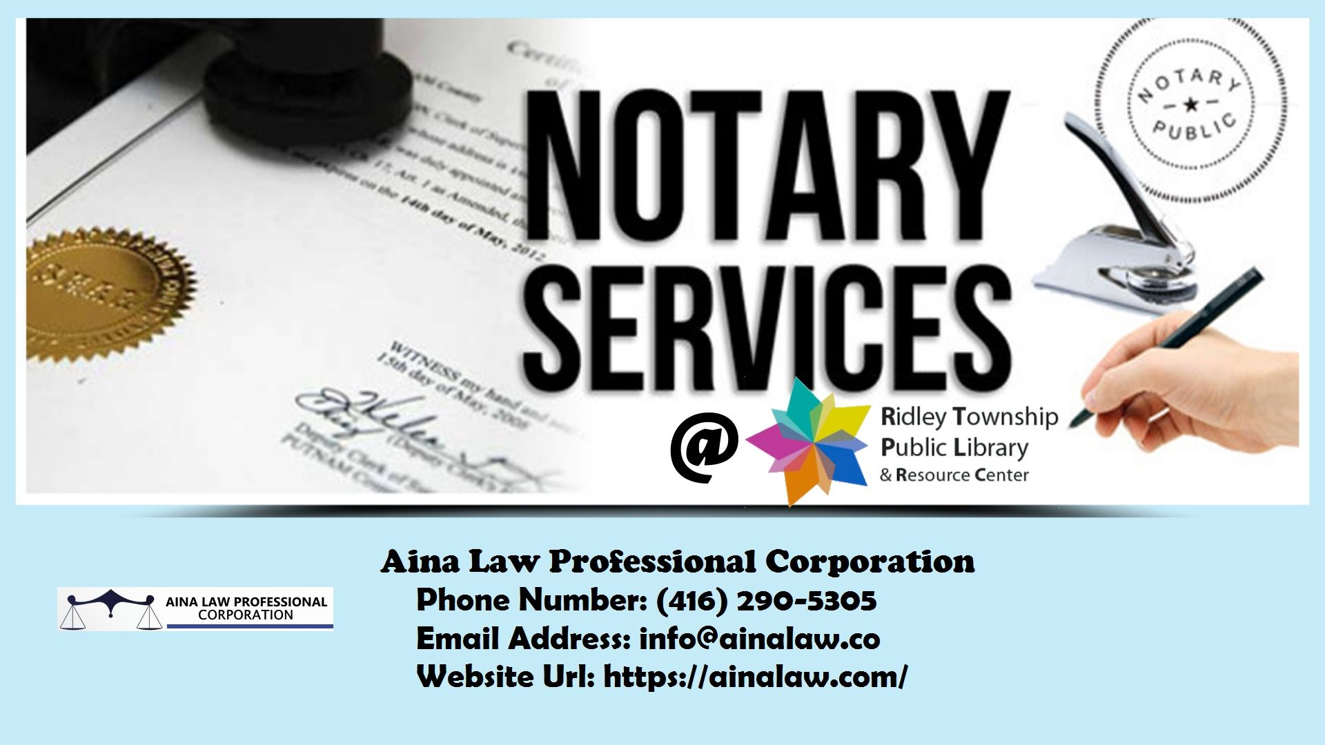 Aina Law Professsional Corporation Is Committed To Complying With