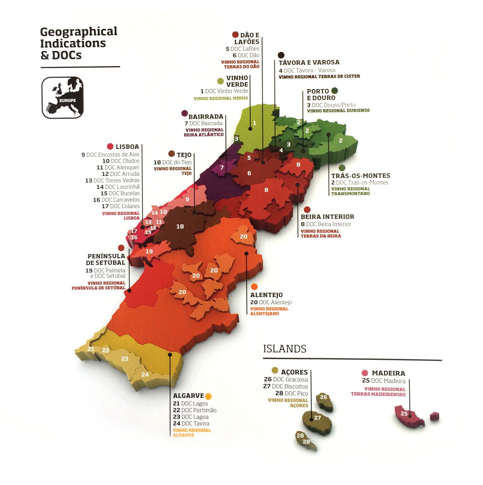 5 Awesome Regions For Wines Under 15 Wine Folly Wine Folly Portugal Wine Wine Map