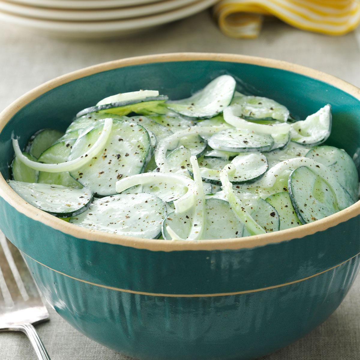 Cucumber Salad Recipe With Sour Cream