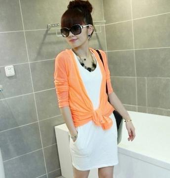 #FASHION WOMEN # Letter Embellished Long Sleeve Fashion Pure Color Coat Orange http://www.clothing-dropship.com/letter-embellished-long-sleeve-fashion-pure-color-coat-orange-g1725226.html