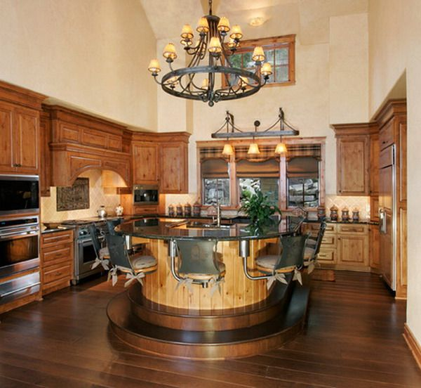 nice look of traditional western kitchen decorating ideas