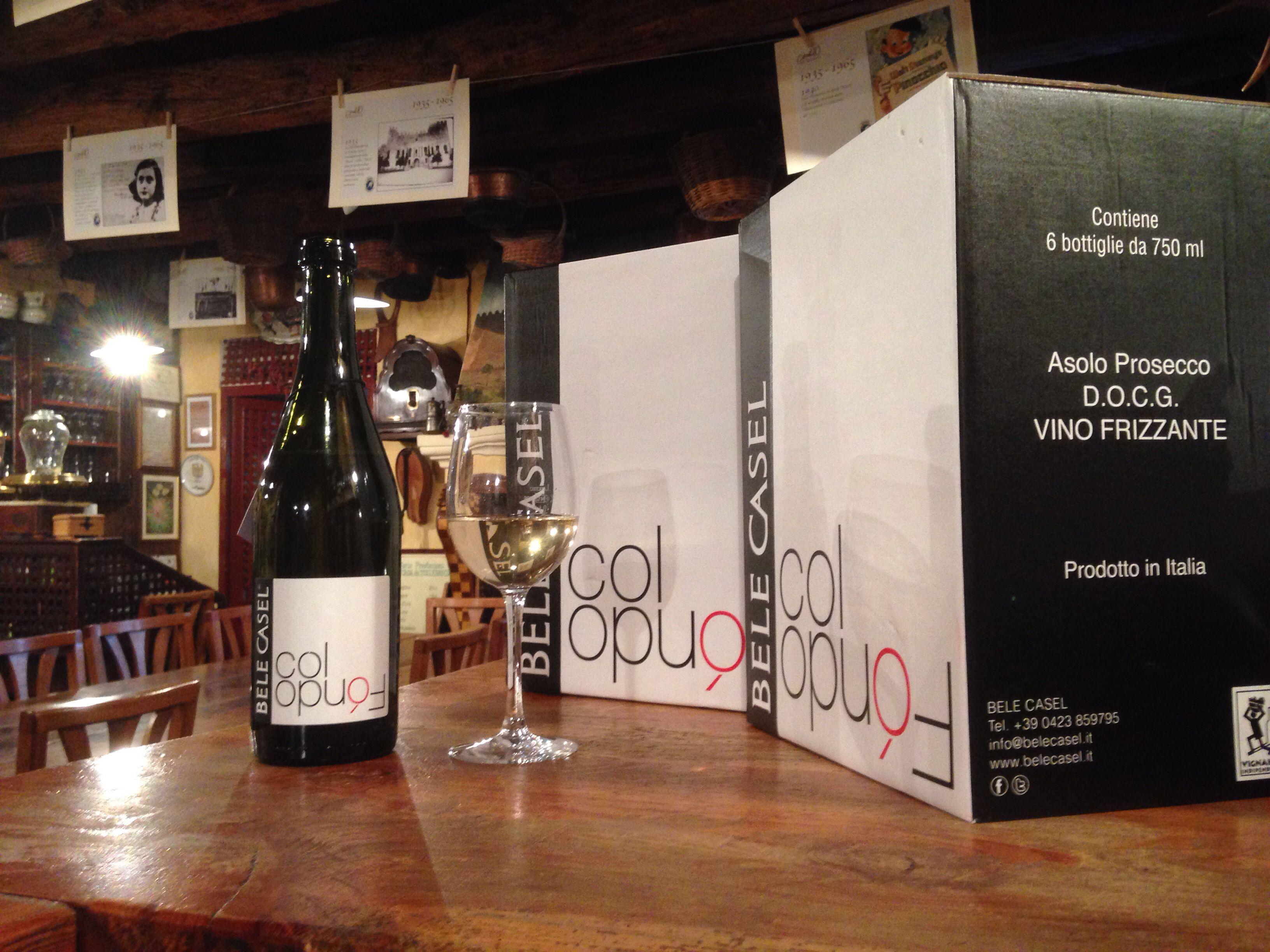Un vino straordinario prodotto nei Colli Asolani da un giovane viticoltore:Luca Ferraro.