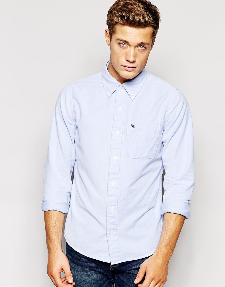 abercrombie and fitch oxford shirt