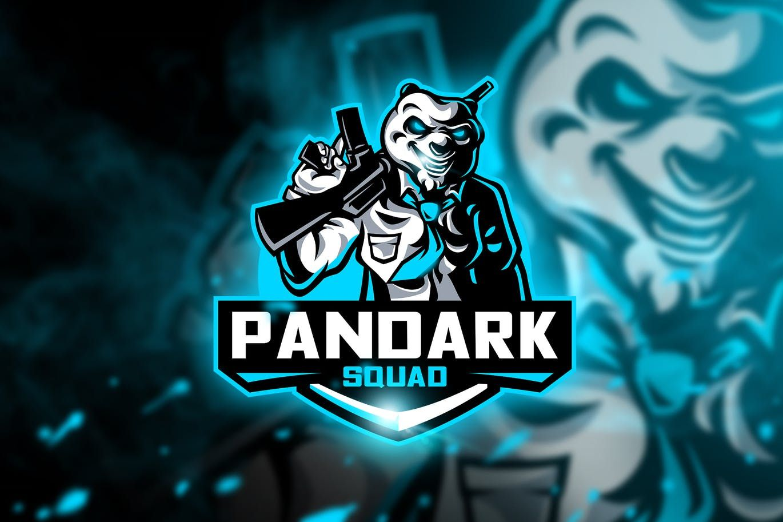 Pandark Squad Mascot & Esport Logo by aqrstudio on