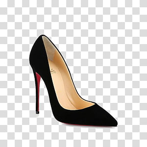 Unpaired Black Christian Louboutin Pointed Toe Stiletto Pump Chanel High Heeled Footwear Clothing Fashion Christian Louboutin Black Christian Louboutin Heels