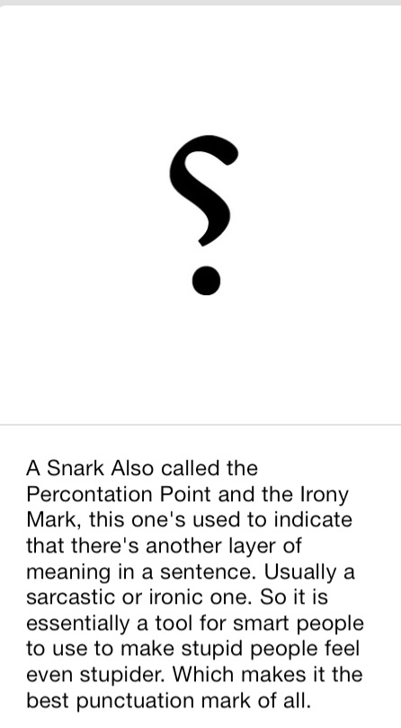 #Snarky #snarkynarrator Francesca @TGIFritzy 1h @sylvain