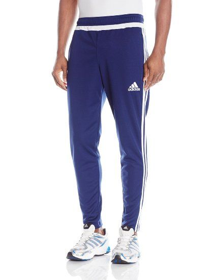 5f99b22b130f9 adidas Performance Men's Tiro Training Pant, Medium, Dark Blue/White ...