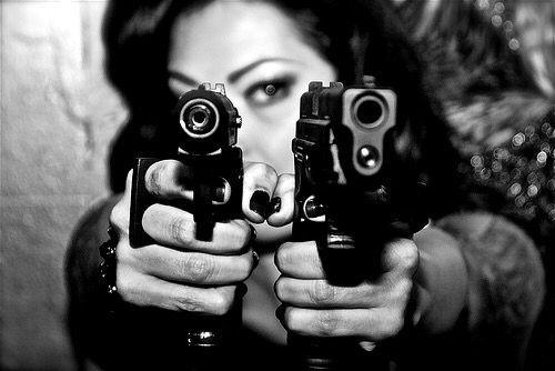 Lesbian gun girls