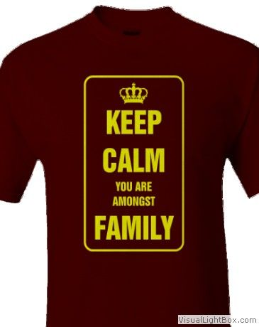 KEEP_CALMclick HERE To Customize With Your Own TEXTand Change T SHIRT And  DESIGN Colors. Family Reunion ...