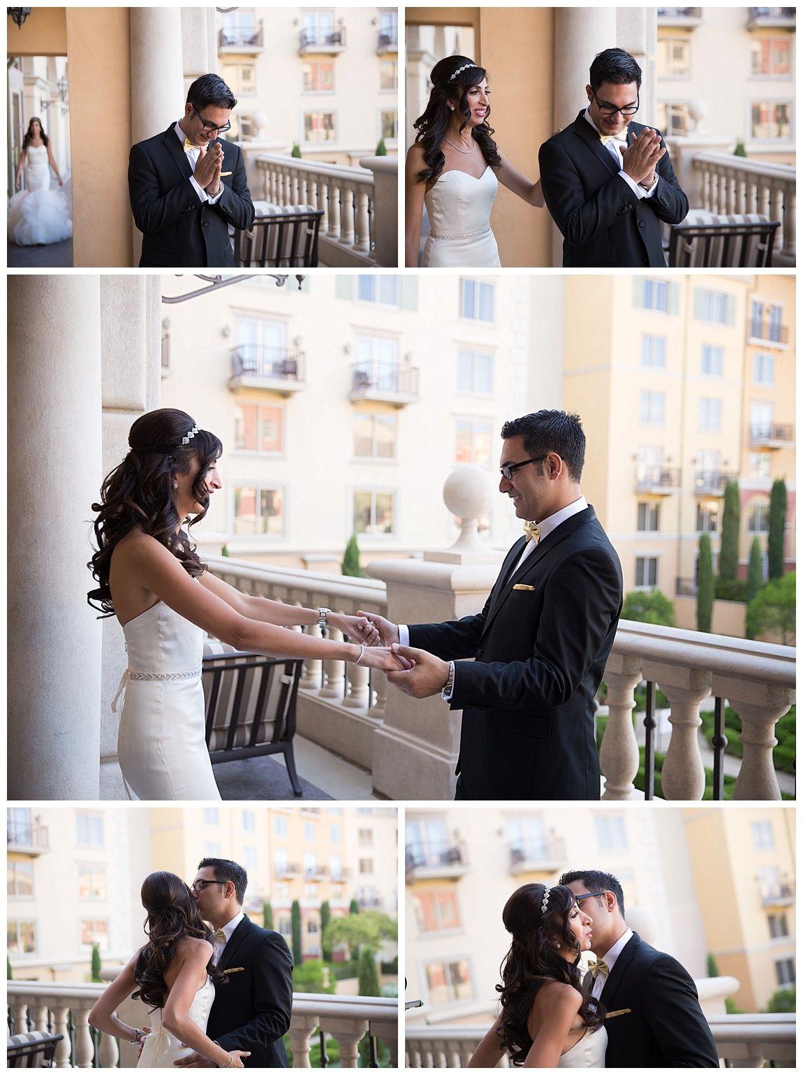 Las Vegas Wedding Planner Hilton Lake First Look