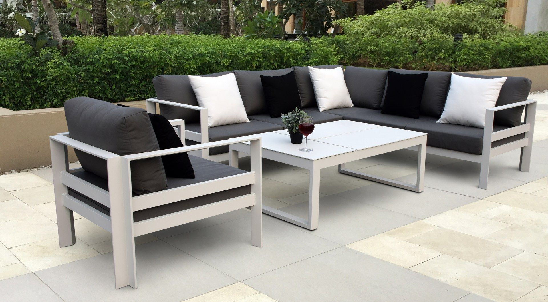 Contemporary Patio Furniture Aluminum Aluminium Outdoor Furniture Modern Outdoor Furniture Outdoor Furniture Design