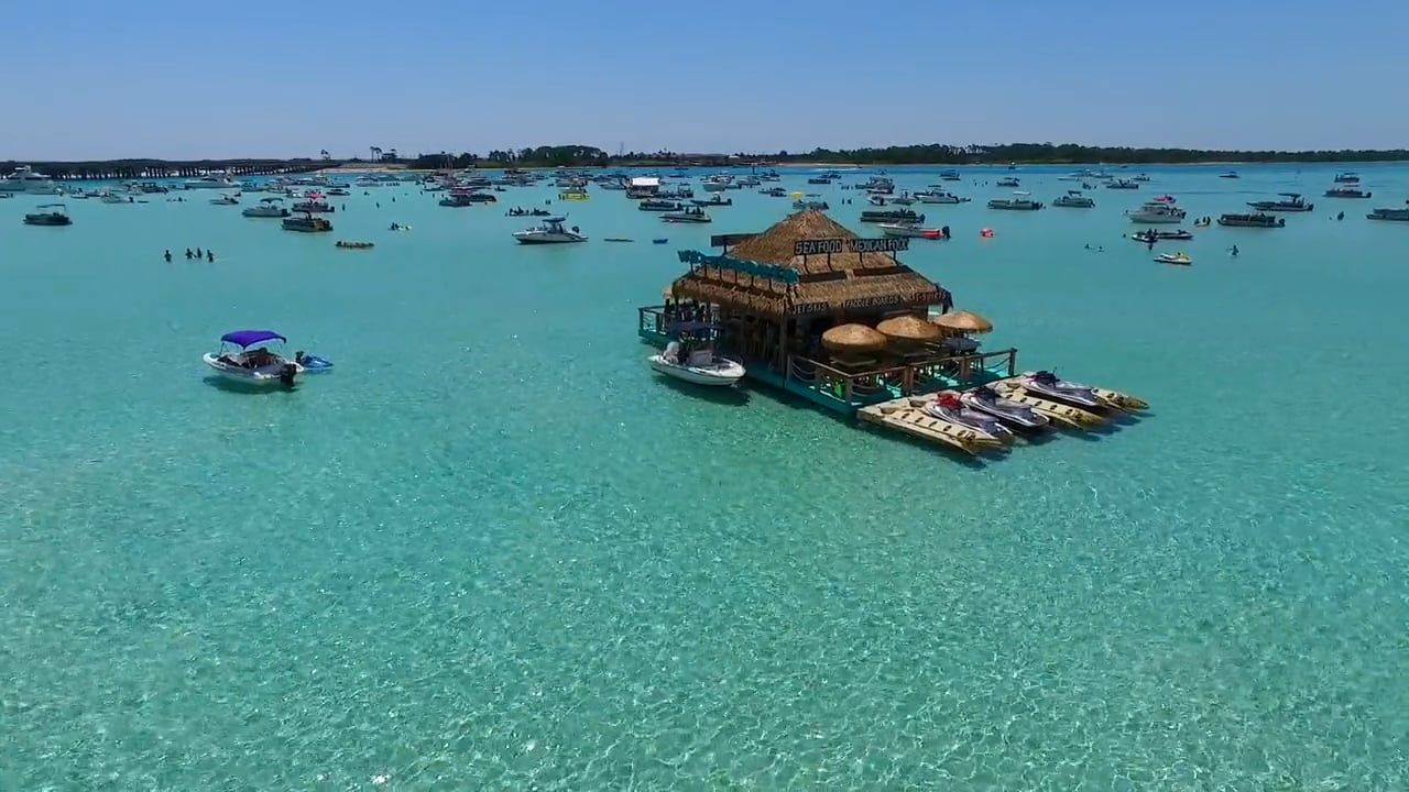Spend Labor Day in Destin Florida at Crab Island this