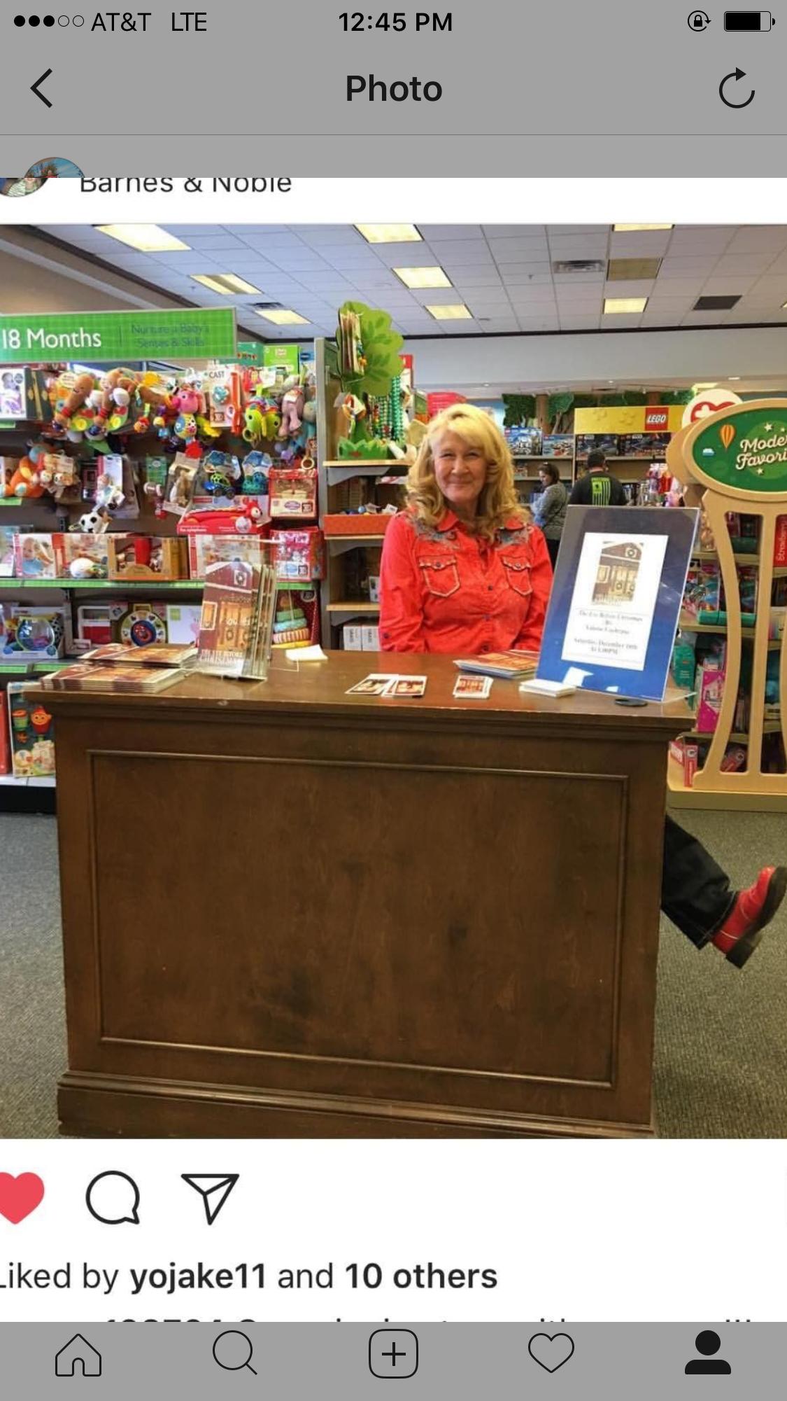 Valorie L Cochrane Colorado Barnes and Noble book signing