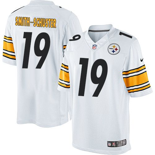cheap for discount ae472 8808b Youth Nike Pittsburgh Steelers #19 JuJu Smith-Schuster ...