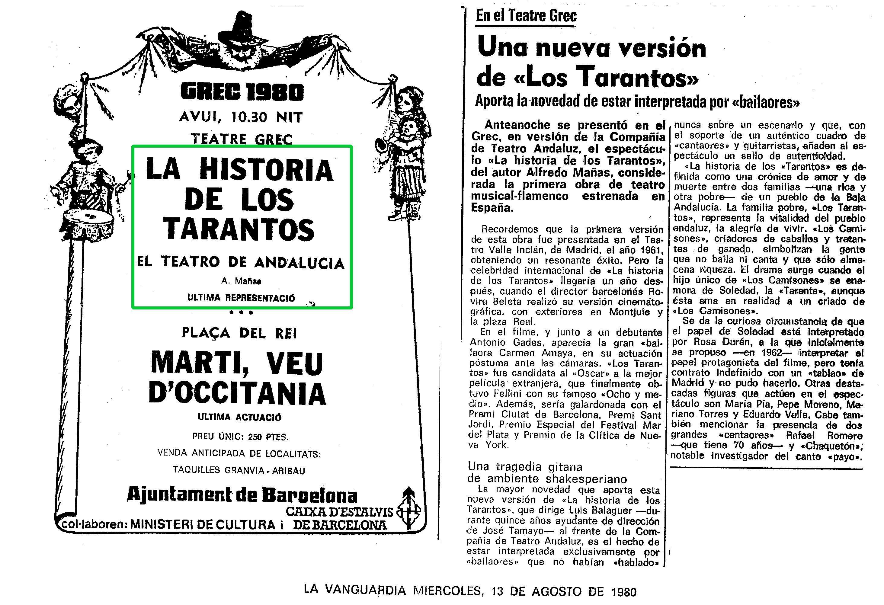 LOS TARANTOS DE SEVILLA
