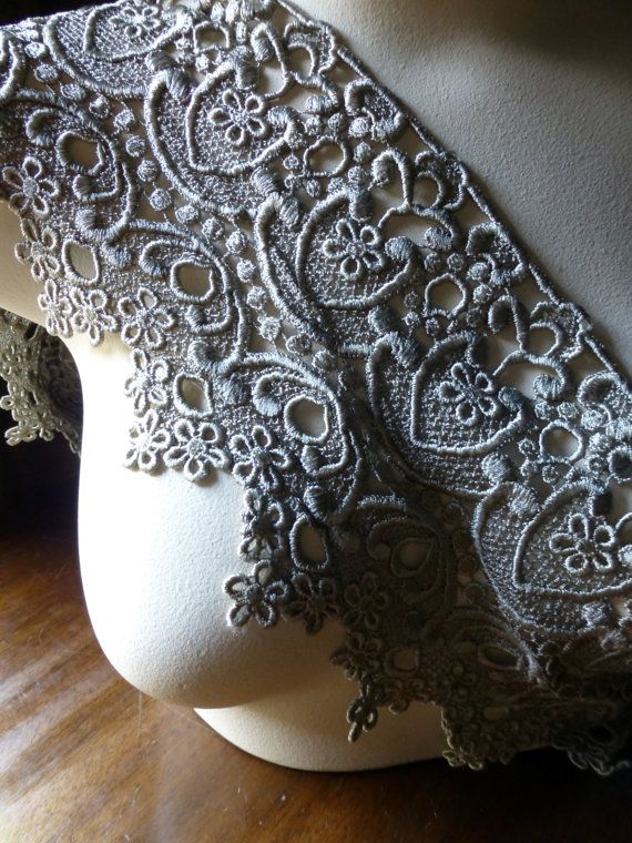 Venise Lace in Taupe for Couture Costumes Sewing by MaryNotMartha