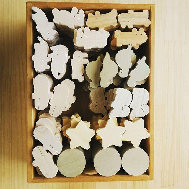 ころころ動物♪#ころころ動物#木のおもちゃ#かわいい#楽しいものづくり #トイホフ #なかよしライブラリー
