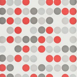 cheap papier peint vinyle pastilles rouge et gris with orla kiely papier peint. Black Bedroom Furniture Sets. Home Design Ideas