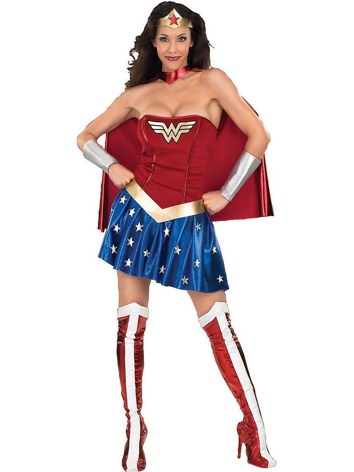 Wonder Woman Costume For Adults | Cheap Superhero Costumes for Women  sc 1 st  Pinterest & Wonder Woman Costume For Adults | Pinterest | Woman costumes Wonder ...