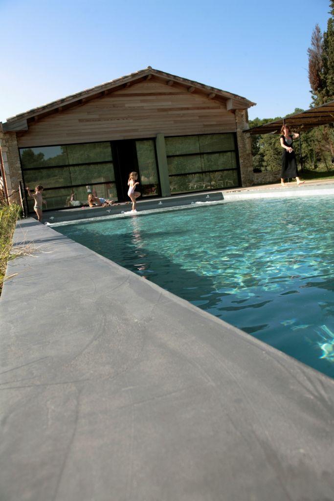 Beton cir mortier fin lisse das original aus Revetement piscine beton cire