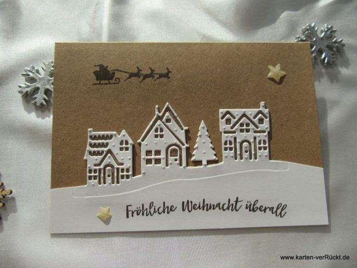 Stampin Up Weihnachten zu Hause – Karten erwacht #stampinup!cards