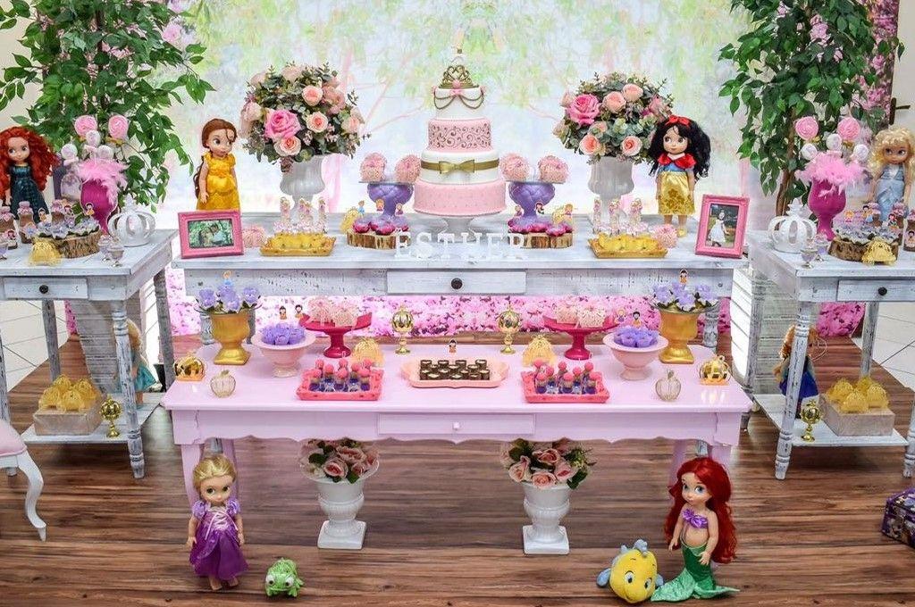Baby Princesas Tema Para Festa Com Imagens Decoracao Festa