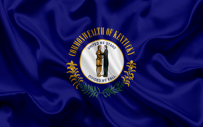 Descargar Fondos De Pantalla Kentucky Bandera Estado De Kentucky