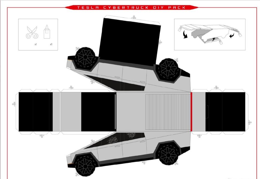 Tesla Cybertruck Diy Pack Tesla Diy Packing