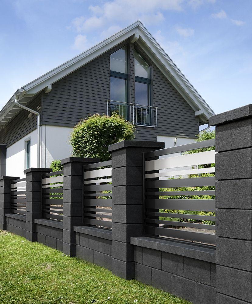 Ogrodzenie Metalowe S7 Code House Fence Design Modern Fence