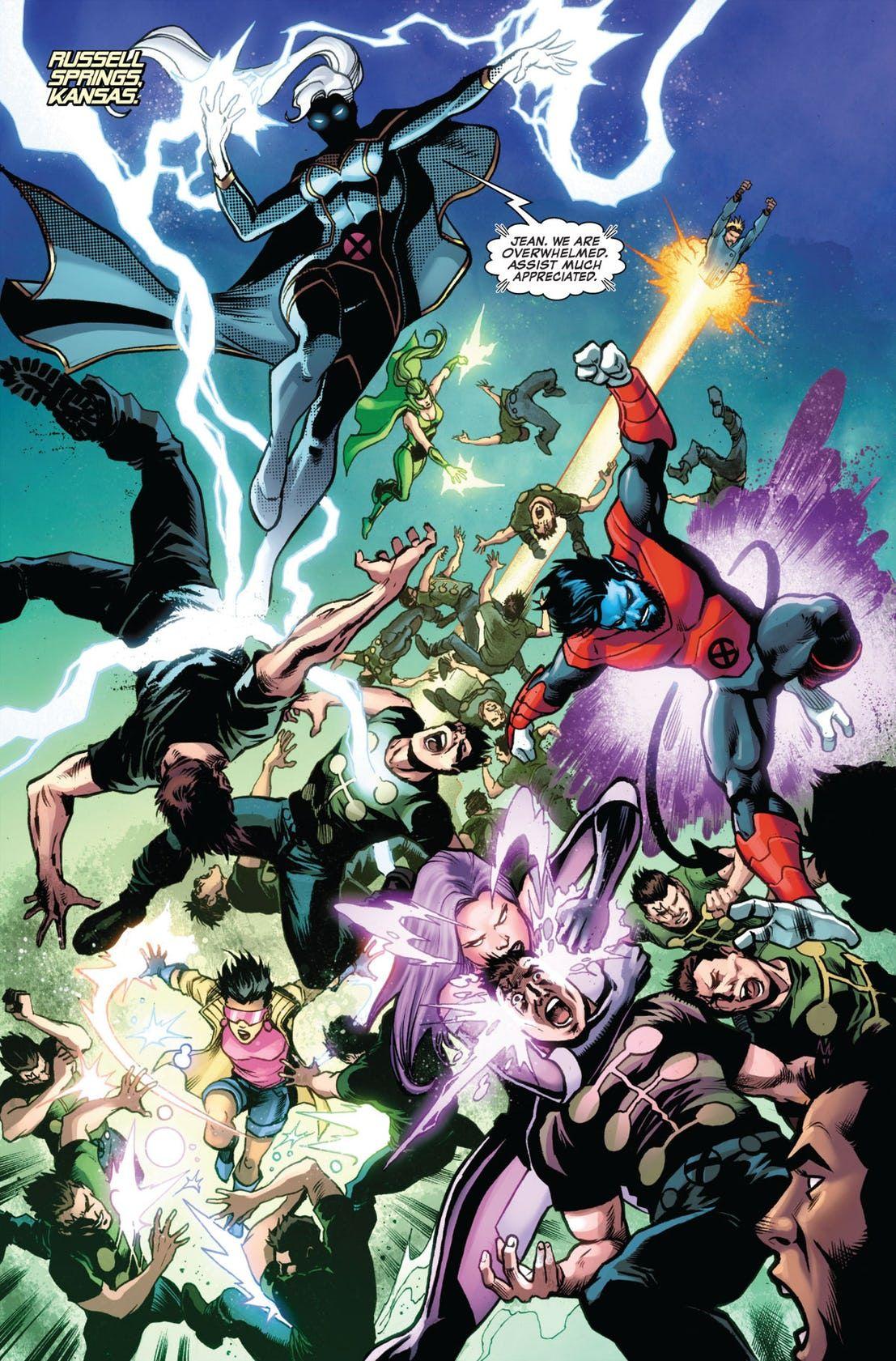 In Uncanny X Men 3 Bishop Helps His Biggest Foe