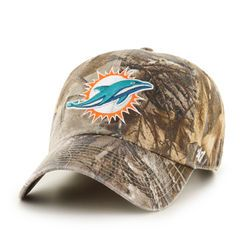 free delivery superior quality detailed images Miami Dolphins Realtree Camo Clean Up Cap | Legendary Whitetails ...