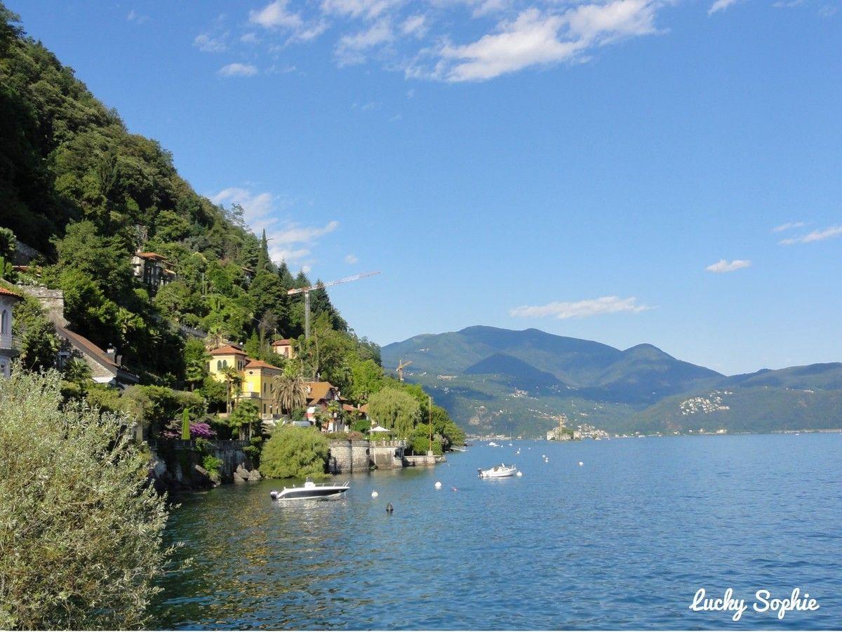 Les grands lacs italiens en famille - Lucky Sophie, blog maman à Lyon #lacmajeur #canneroriviera #italie