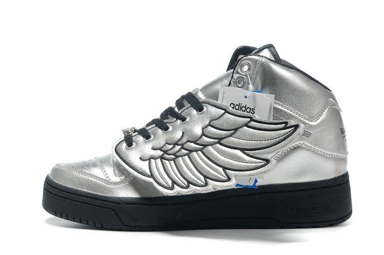 0b7e8a8ea008 JS Wings for Adidas Originals x Jeremy Scott ( silver black ...