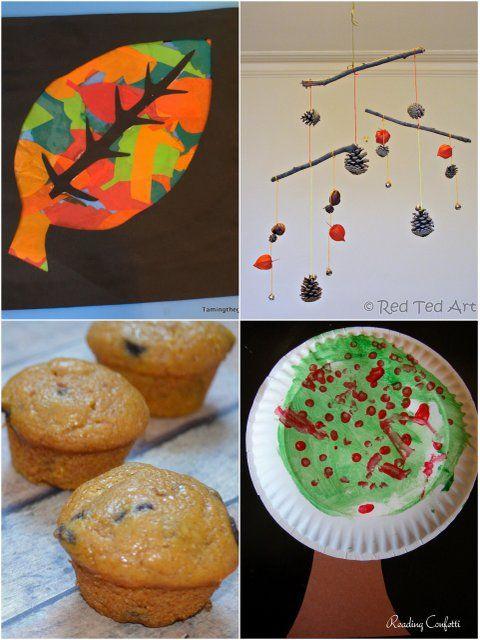 pinturas no prato, cozinha, colagem em formas e mobiles