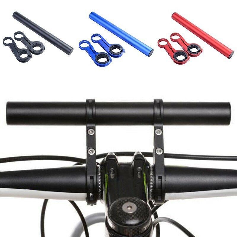 Bicycle Handlebar Extender Flashlight Headlight Mount Alloy Bracket