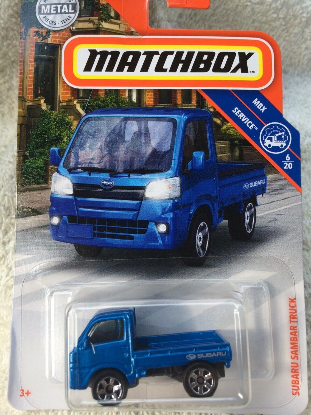 Subaru Pickup 2019 : subaru, pickup, Matchbox, Subaru, Sambar, Truck-#6/20, Service-Free, Shipping!, Subaru,, Matchbox,, Trucks