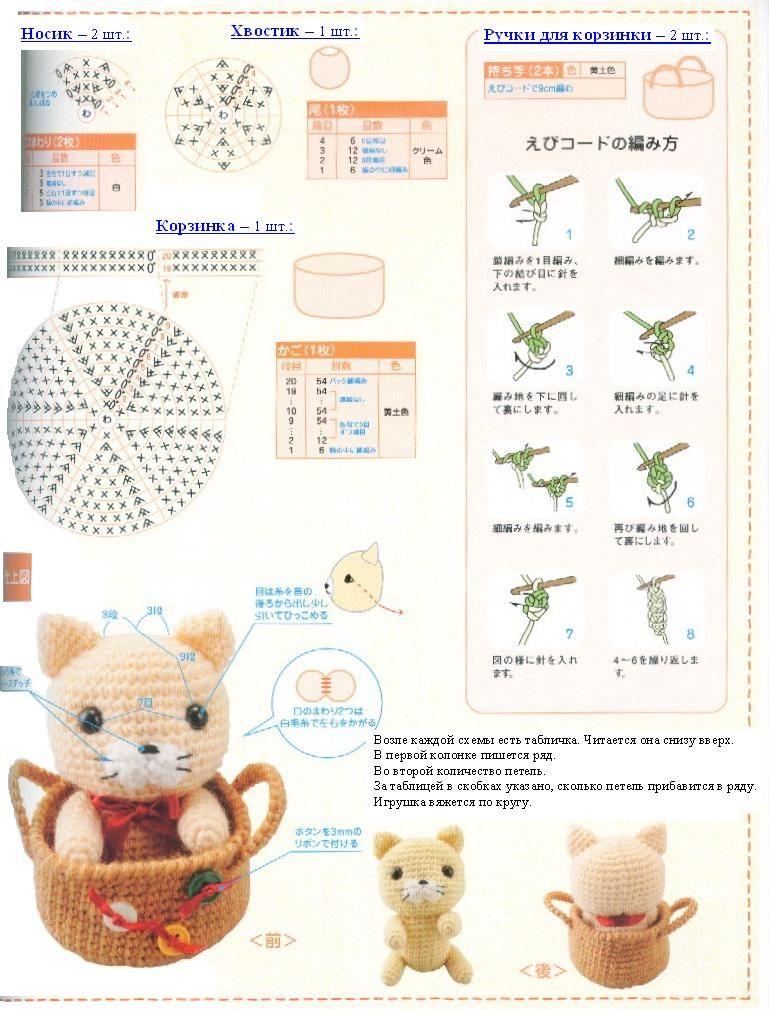 CHAROCROCHET PATRONES: GATITO | miniaturas a crochet | Pinterest ...