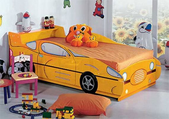 Modern Boys Room Designs With Beds Inspired By Car Boy Bedroom