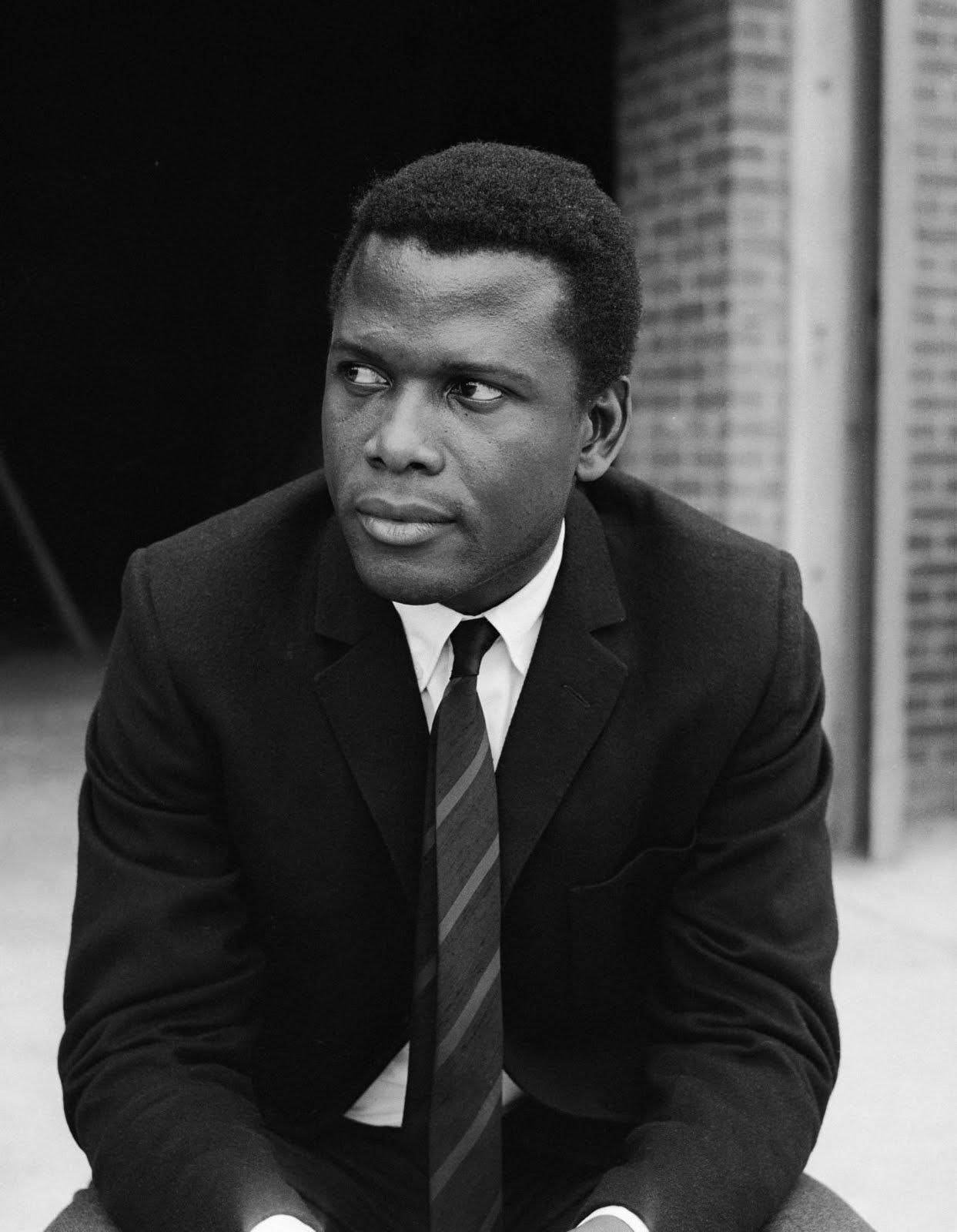 """Sidney Poitier. """"I never had an occasion to question color, therefore, I only saw myself as what I was... a human being."""""""