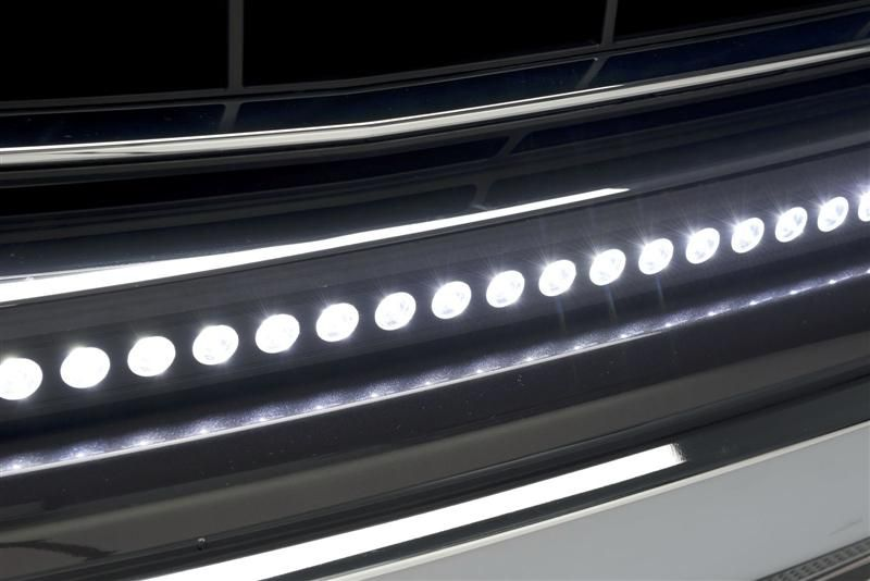 Up close of the luminix led light bar luminix led light bars putco is the industry leader in automotive accessories including chrome trim led lighting step bars truck accessories and stainless steel fender trim mozeypictures Image collections