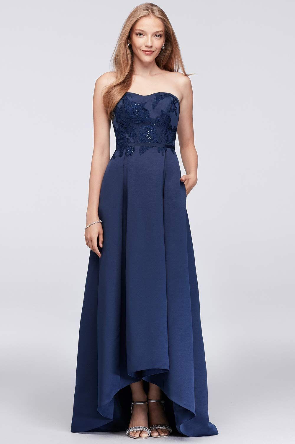 Stylish navy bridesmaid dresses your girls will love nancyus