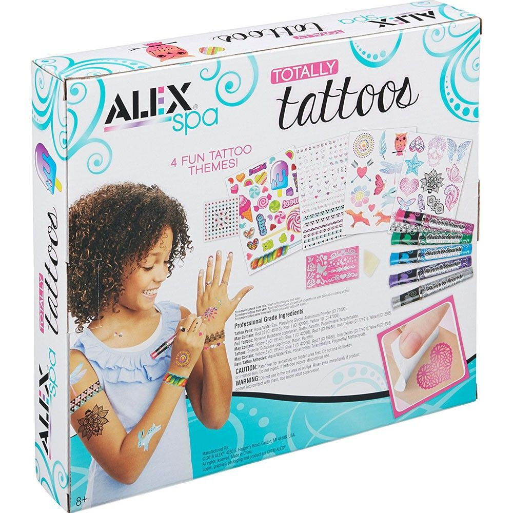 Totally Tattoos Girls Craft Kit Toys For Girls Crafts For Girls Alex Toys