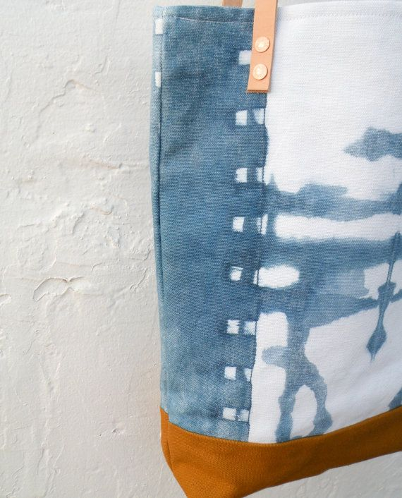 Add This Unique Hand Dyed Tote Bag To Your Purse Stash