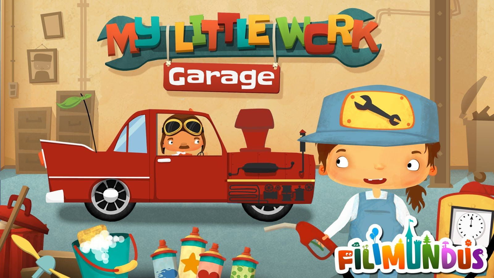 """My Little Work Garage """"Unlock All"""" Android İos Free Game"""