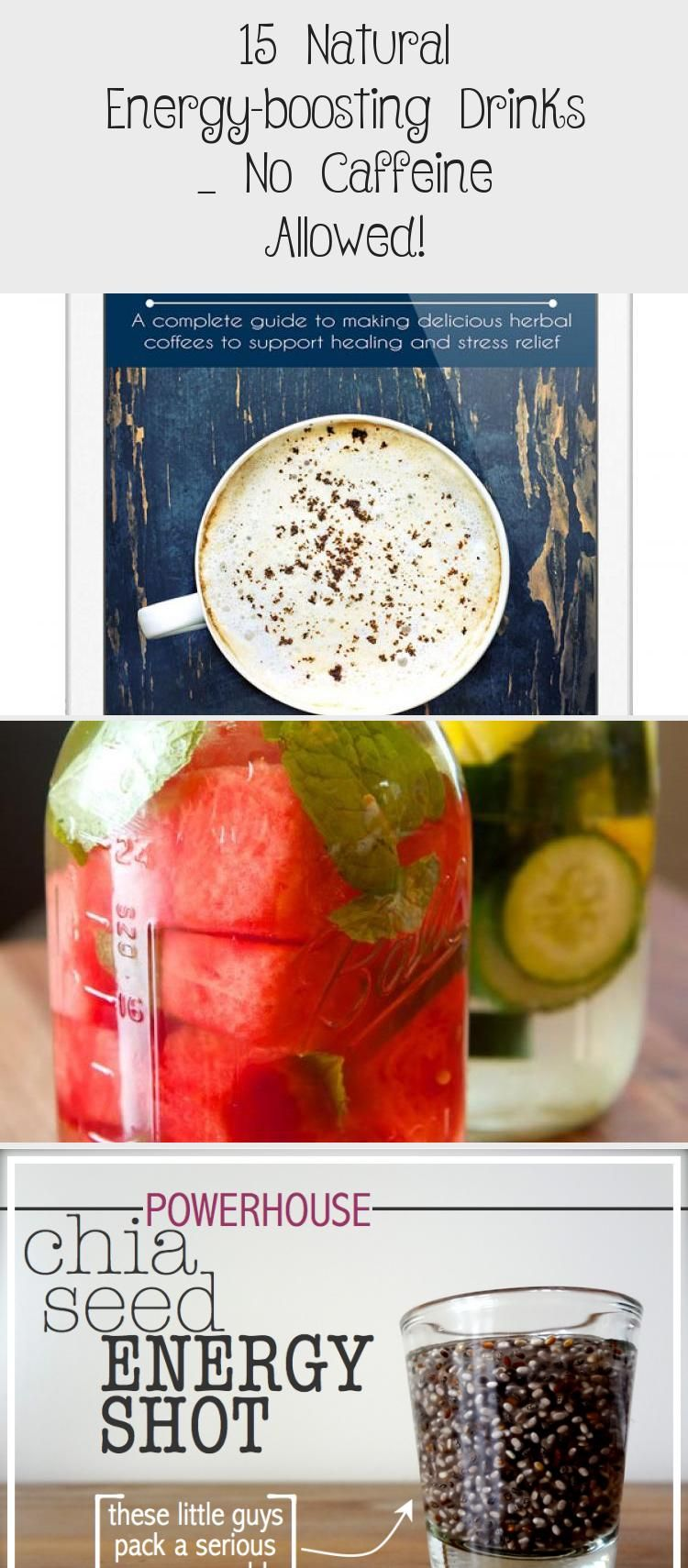 15 Natural Energy Boosting Drinks 8212 No Caffeine Allowed Healthy Drinks Natural Energy Energy Smoothies
