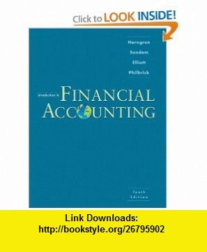 Introduction to financial accounting 10th edition 9780136122975 introduction to financial accounting 10th edition 9780136122975 charles t horngren fandeluxe Image collections
