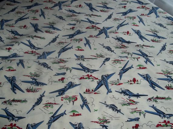 Fq Michael Miller Wild Blue Yonder Planes 100 Cotton Fabric Uk Seller Sheets For Levi S Bed Sewing Hacks Michael Miller Fabric