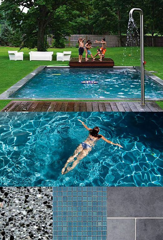 Simone hanckel thanks for the idea this is my mood board - My perfect pool ...