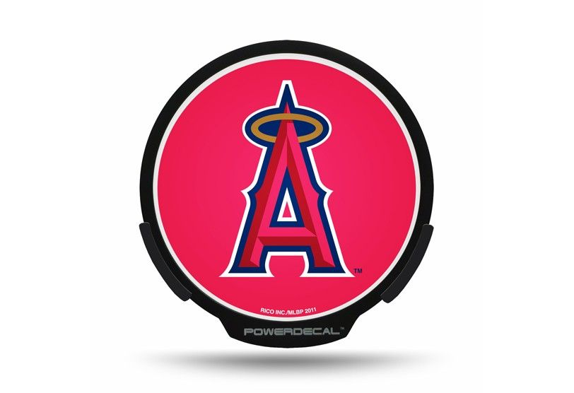 Los angeles angels of anaheim carvehicle power decal